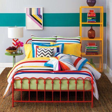 9 By Novogratz Bar Code Mini Comforter Bedding Set Comforter