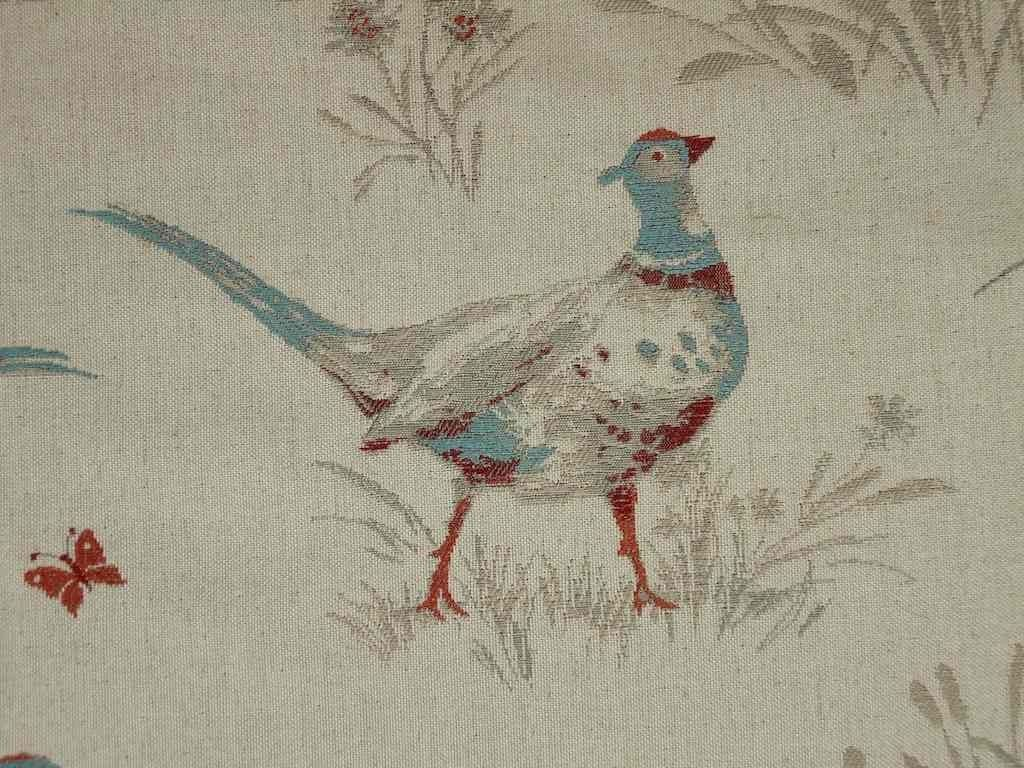 Pheasant Tapestry Curtain Upholstery Fabric