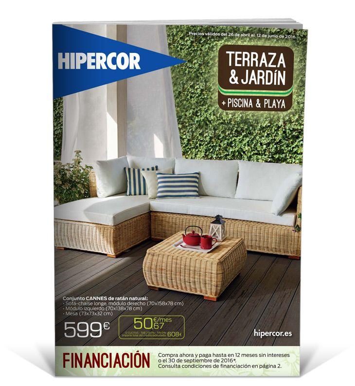 Terraza Jardín Incluyendo Mobiliario Para Piscina Y Playa Abril 2016 Muebles De Jardin Muebles Muebles Salon