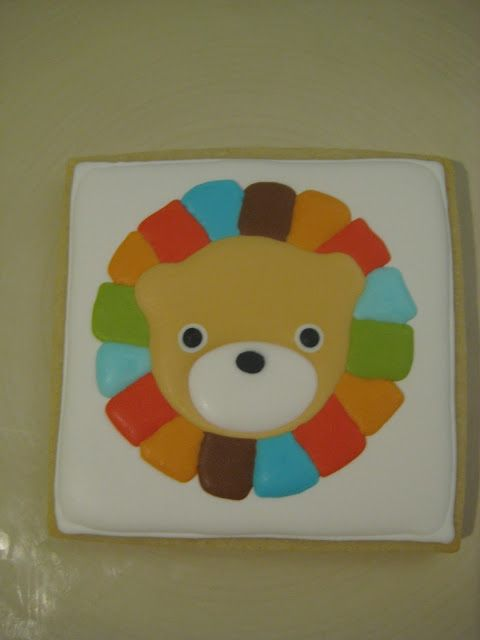 Quick Brown Fox Bakery Blog: How to make a lion cookie