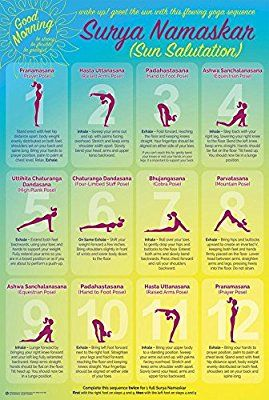 amazon wake up with surya namaskar yoga sun