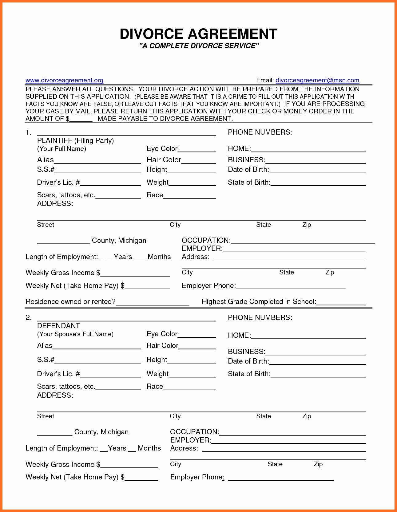 20 Fake Divorce Certificate Template