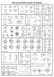 Electrical Wiring Diagram Symbols Electrical Print Symbols