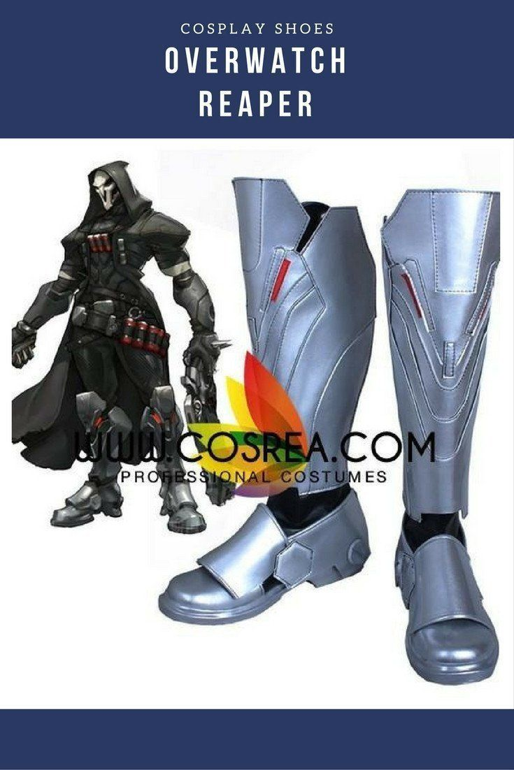 Anime Overwatch Reaper OW Cosplay Costume Props Gloves Hand Armor Suit Handmade