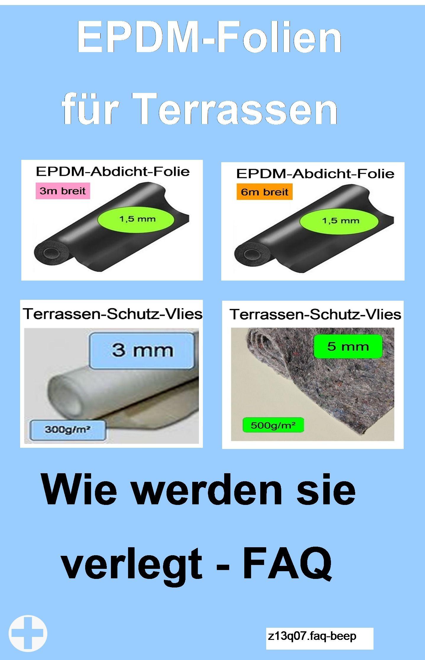 Epdm Folie Allgemeine Fragen Faq Teichbau Teichfolien Terrasse Selber Machen