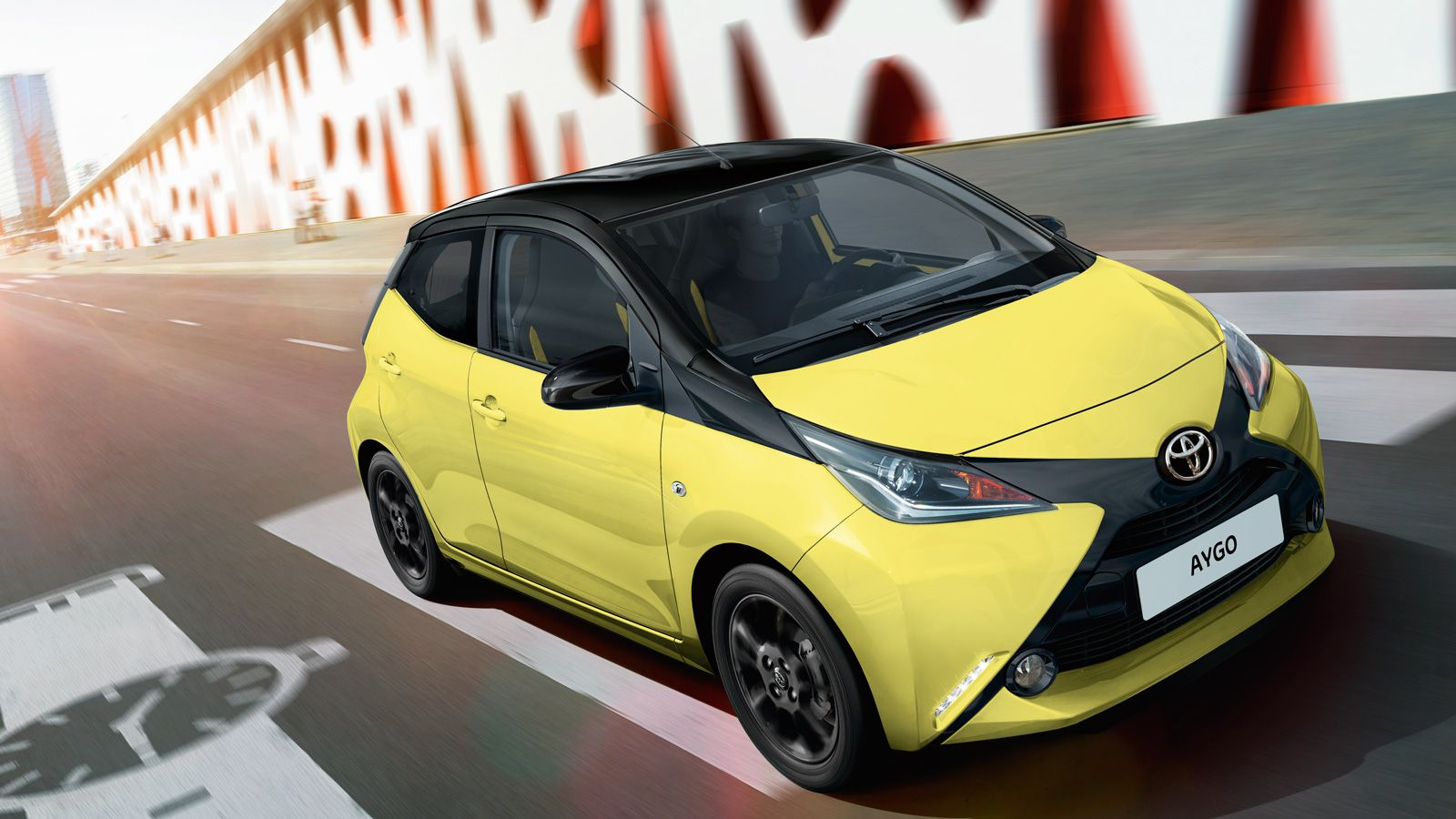 Aygo Small Cars City Cars Limited Edition Yellow Fizz