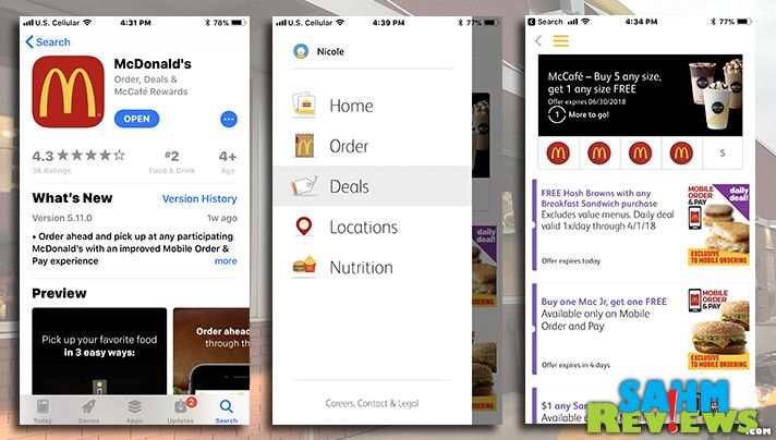 Wondering how to use the new McDonald's app for Mobile