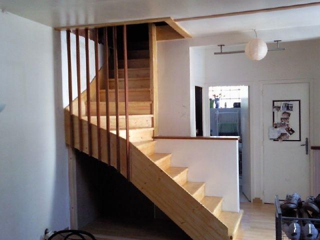 escalier bois et tasseaux en jatoba escaliers. Black Bedroom Furniture Sets. Home Design Ideas