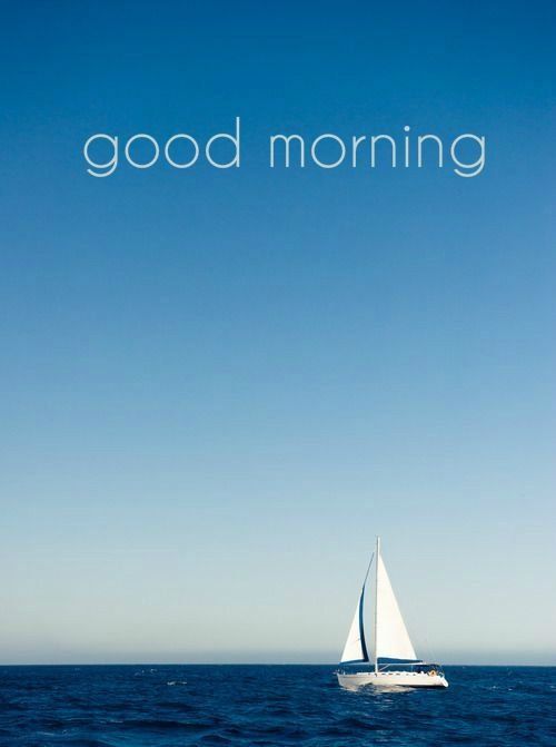 Good Morning Card A Day At By The Sea