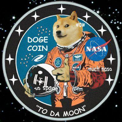 Dogecoin NASA | Doge, Buy dogecoin, Crypto coin
