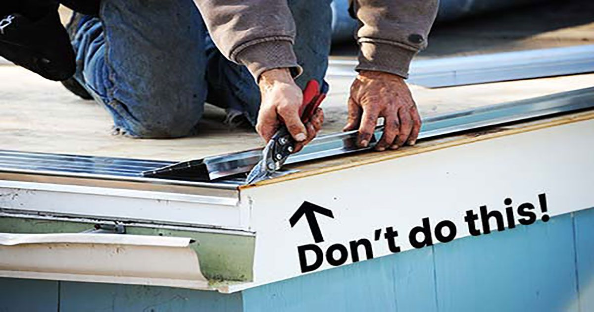 How To Install Drip Edge The Proper Way Queen Bee Of Honey Dos In 2020 Drip Edge Roof Problems Roof Inspection