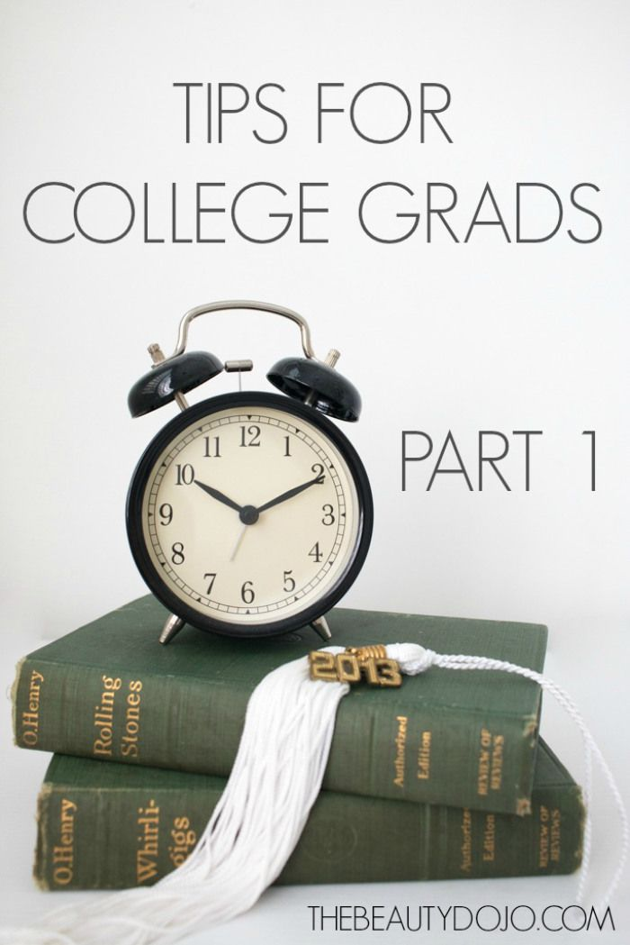 Tips for recent college grads part one. Some of the things I wish I was told when I graduated from college.