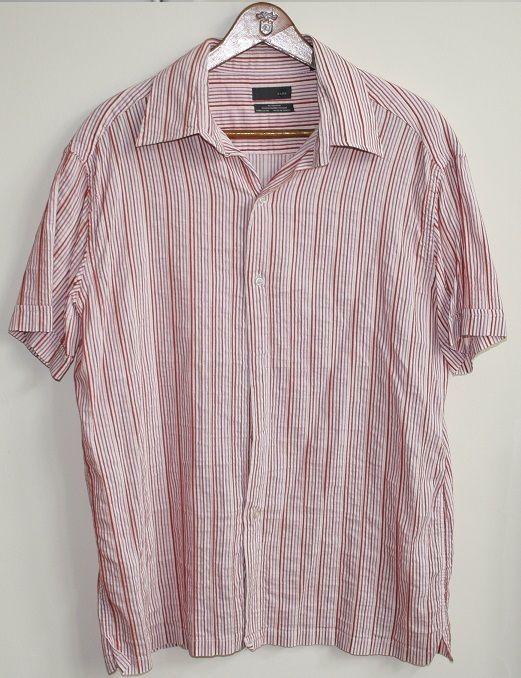 816995044 Genuine Vintage Retro Zara Man Fashion Summer Mens Shirt Size M ...