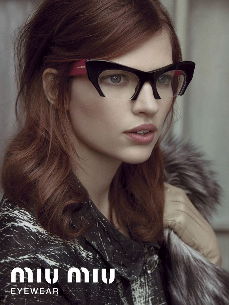 dc5dc63e31 Miu Miu Rasoir Sunglasses ADV 02 Miu Miu Rasoir Eyewear SS13 ...