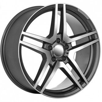 20 Inch Split 5 Spoke Amg Wheels Replica Wheels Mercedes Benz