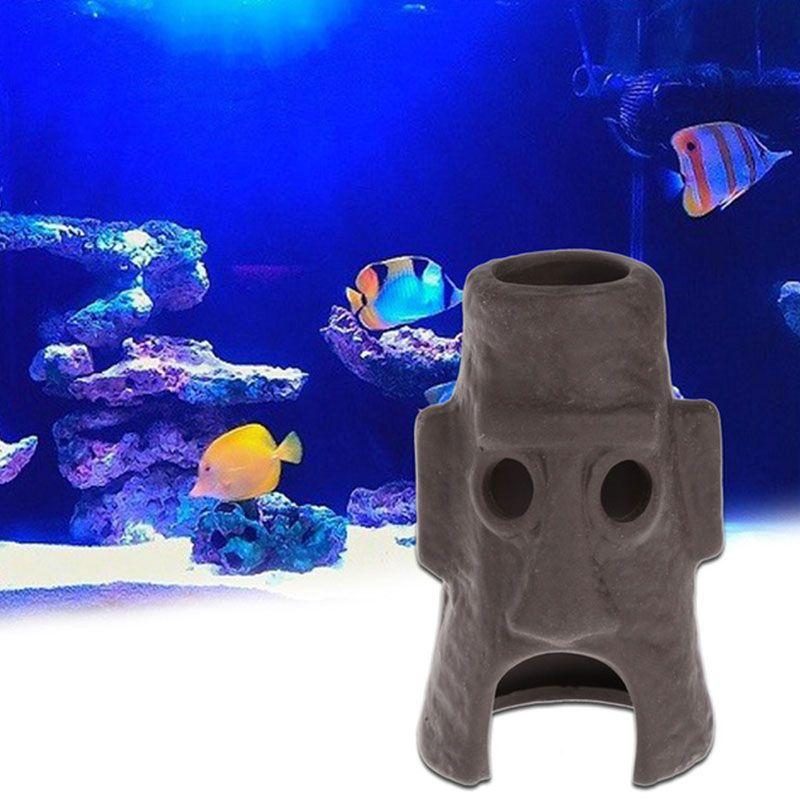 Diy Aquatic Animals House Home Shelter Fish Tank Landscaping Ornaments Decors Affiliate Ceramic Houses Fish Tank Ornament Decor