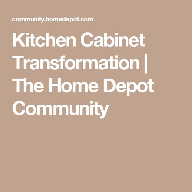 Kitchen Transformations: Kitchen Cabinet Transformation