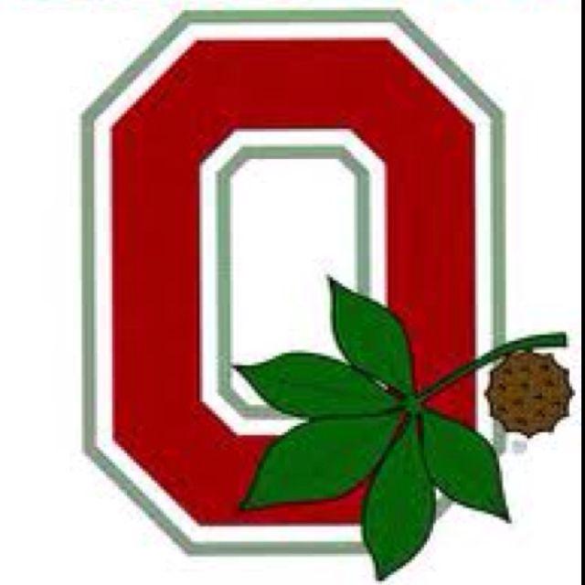Ohio State Buckeye Leaf Logo Buckeye Leaf Ohio State Buckeyes Crafts Ohio State Crafts