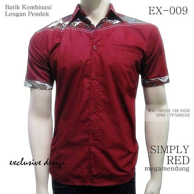 BATIK KOMBINASI Kemeja Batik Modern Seragam Batik Kantor Baju