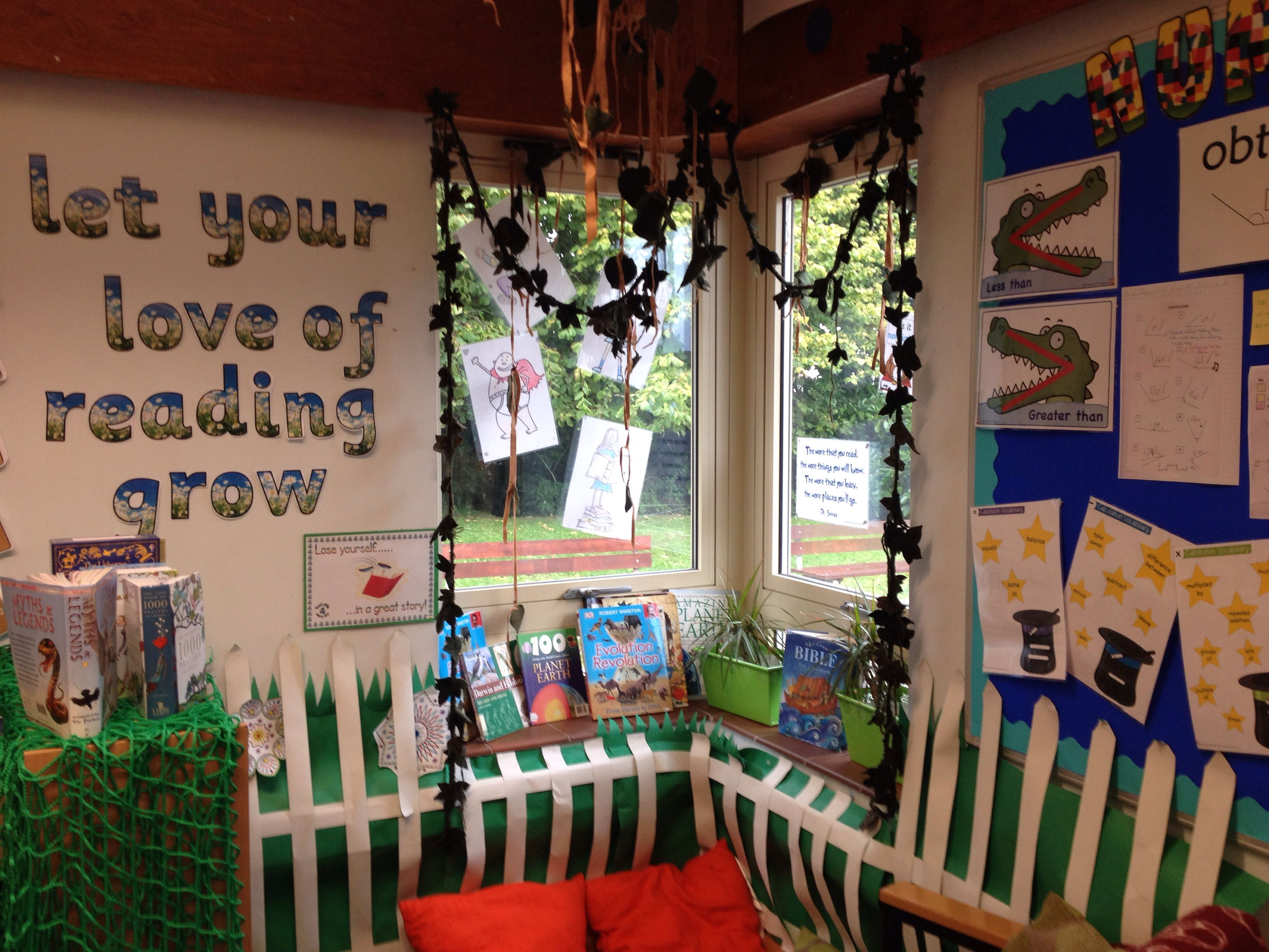 Classroom Ideas Ks2 ~ My reading corner ks classroom for the home pinterest