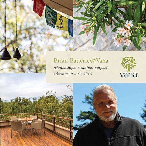 #Vana's Specialist #Retreats create opportunities to be immersed into a specific genre of #wellness, life expertise or spiritual practice for deeper healing and learning.  Brian Bauerle, coach, psychotherapist and founder of the Asian Leadership Institute, will be at Vana in Feb 2016.   This Specialist Retreat will focus on relationships, meaning and purpose, allowing guests to master techniques of mindfulness, communication and informed decision-making.
