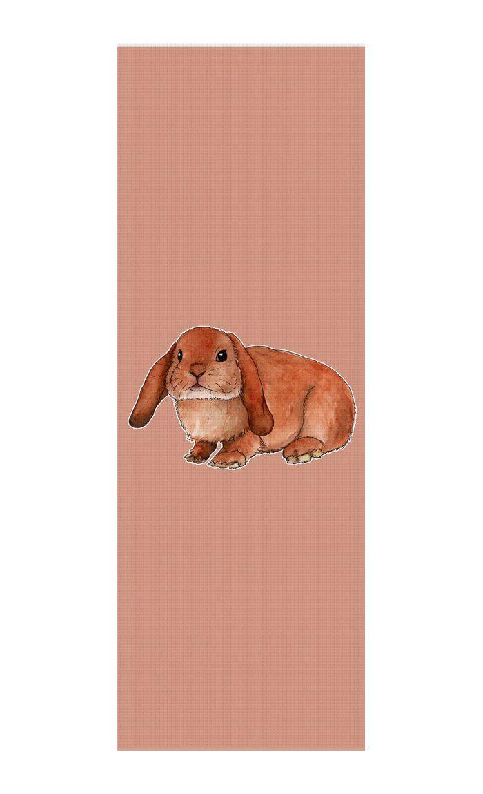 Red rabbit ram Yoga Mat by @savousepate on RageOn! #bunny #rabbitram