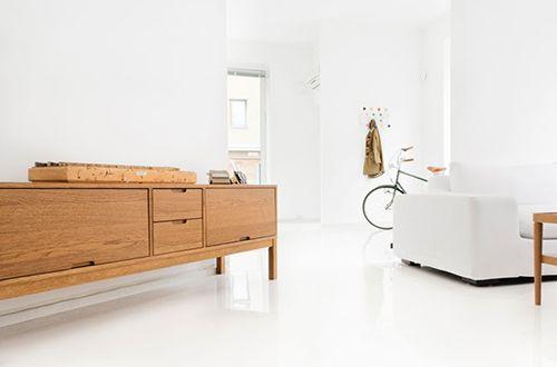 Credenza Colorata Ikea : Via convoy bright white nordic apartment ikea stockholm