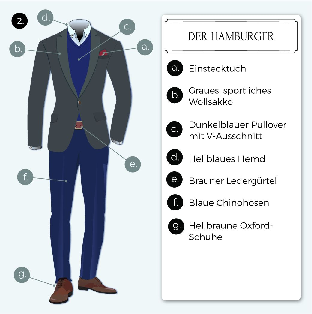 der hamburger dresscode business casual a pinterest herren mode stil mode und styling tipps. Black Bedroom Furniture Sets. Home Design Ideas