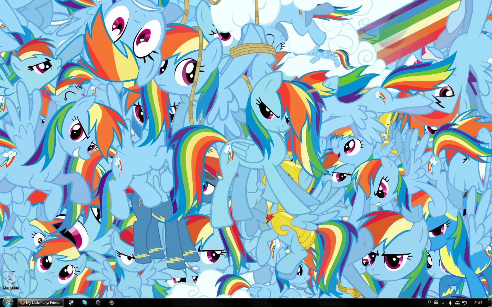 my little pony friendship is magic Full of Rainbow Dash