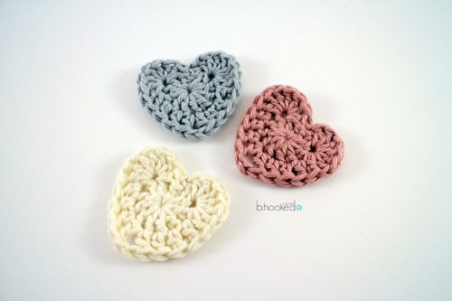 20+ Crochet Heart Patterns for Valentine\'s Day and Beyond ...
