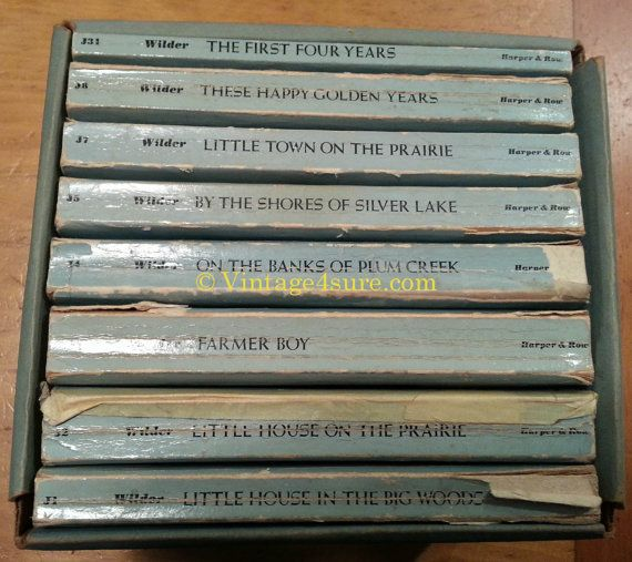 Little House on The Prairie Books Laura Ingalls by Vintage4sure, $10.00