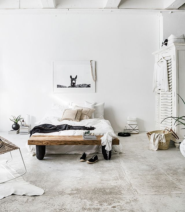 White Bedroom Furniture Nz a white bedroom in new zealand with a warm, boho summer vibe