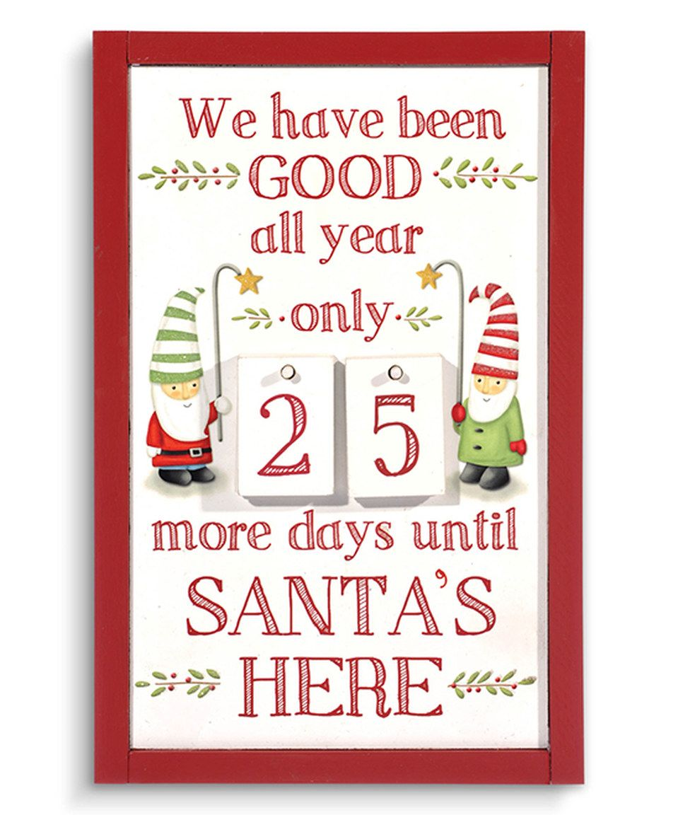 This Holiday Countdown Calendar by Grasslands Road is perfect! #zulilyfinds