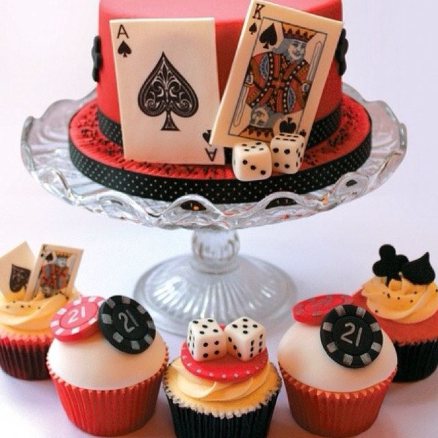 Casino Cupcakes Casino Theme Casino Night And Casino Party