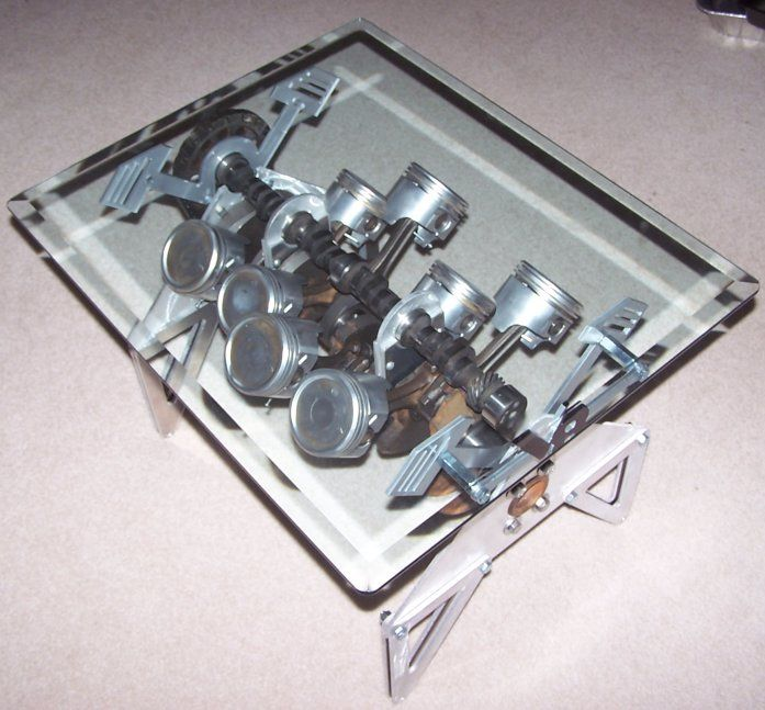 This Car Engine Table Is Really Cool As Well. Part 88