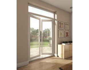 Jeld wen farndale plain patio doors open out 1800 x 2100mm - Exterior french doors that open out ...