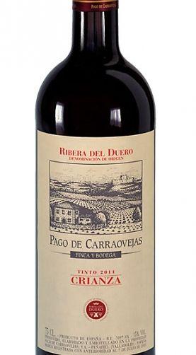Pago De Carraovejas Crianza 2011 Vinos Etiquetas De Vino Y