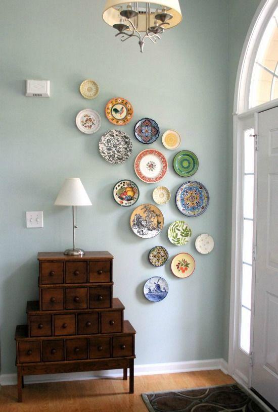 Aan De Muur Decoratie.Borden Aan Muur Hangen Muurdecoratie Plates On Wall Home Decor