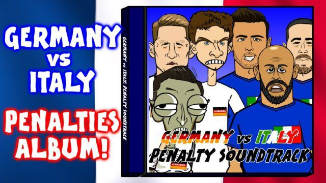 The Germany-Italy penalty shoot-out gets a brilliant cartoon soundtrack (442oons video)