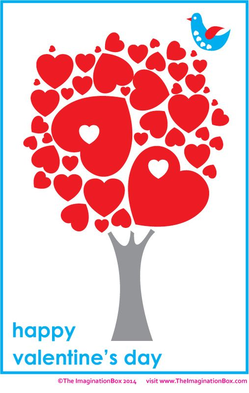 Tree Of Hearts Free Printable Available In Outline Format