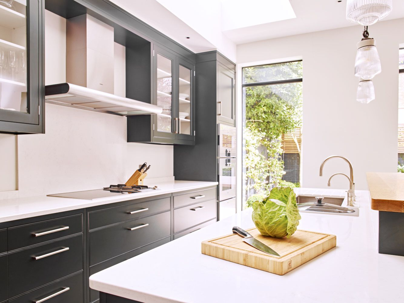 North London Contemporary Classic Bespoke kitchen