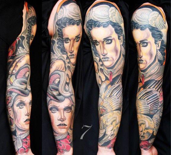 Tatouage Idee 45 Tatouages Magnifiques De La Mythologie Grecque 15