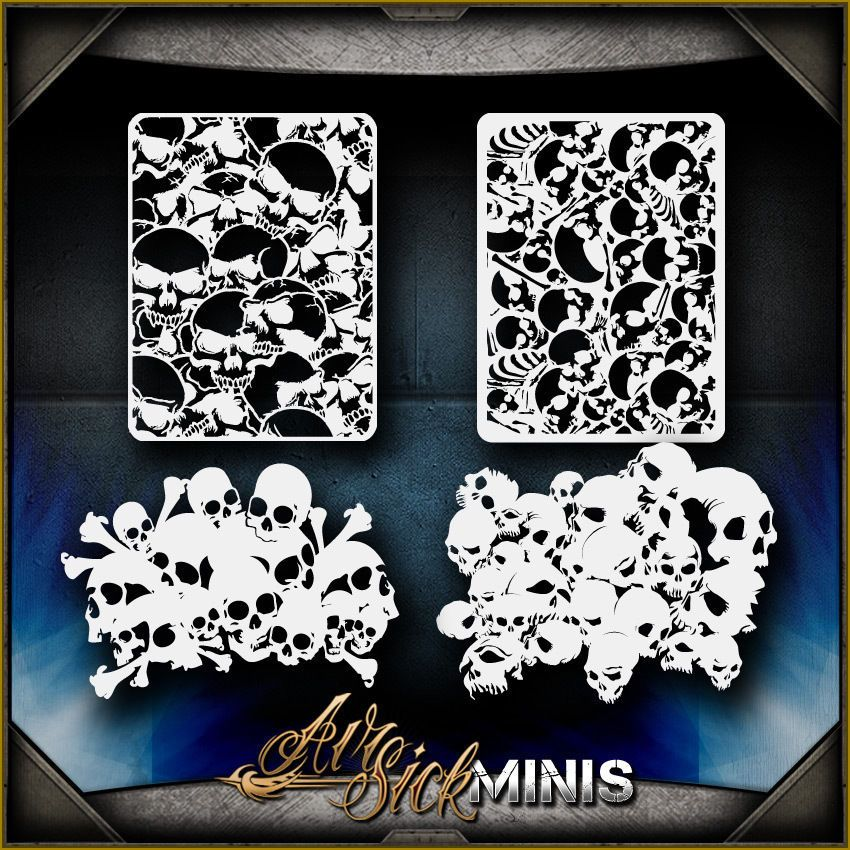 Paint Spatter A4 Mylar Reusable Stencil Airbrush Painting Art Craft