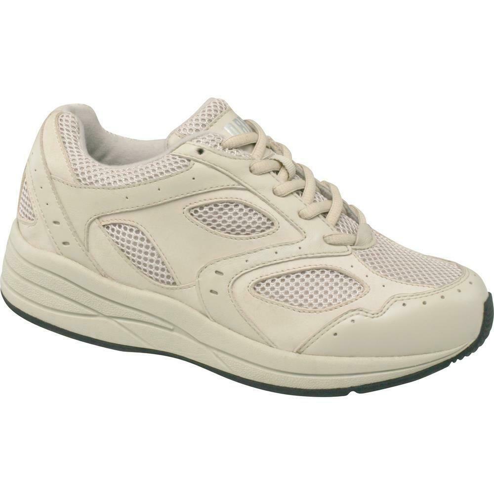 $155 Drew Shoes Women FLARE 6.5W Bone Athletic Sneaker