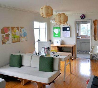 sala comedor pequeña Decoracion casa Pinterest