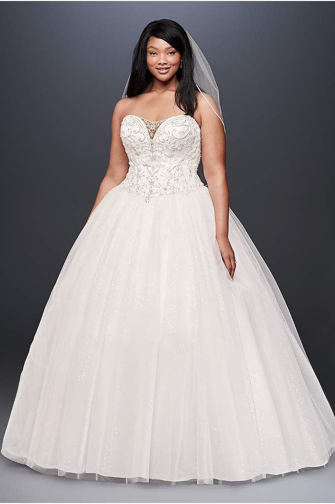 Plus Size Wedding Dresses & Bridal Gowns | David\'s Bridal | Wedding ...