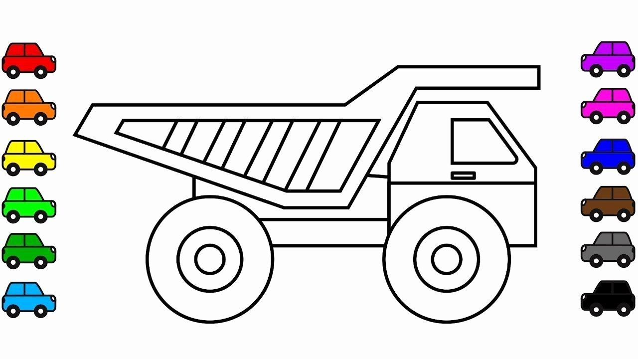 Transport Vehicles Coloring Page Beautiful Construction Truck Colouring Pages For Kids Dum Coloring Pages For Kids Truck Coloring Pages Coloring Pages For Boys