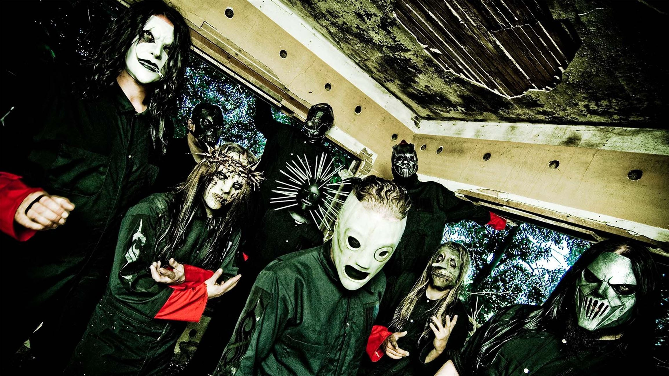 Slipknot 4K Wallpaper httpwallpapersandbackgroundsnet
