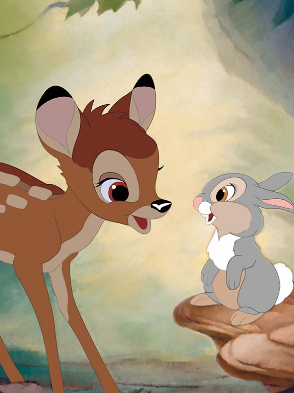 75th Anniversary Of Bambi 1942 Bambi Disney Cute Disney Wallpaper Cute Cartoon Wallpapers