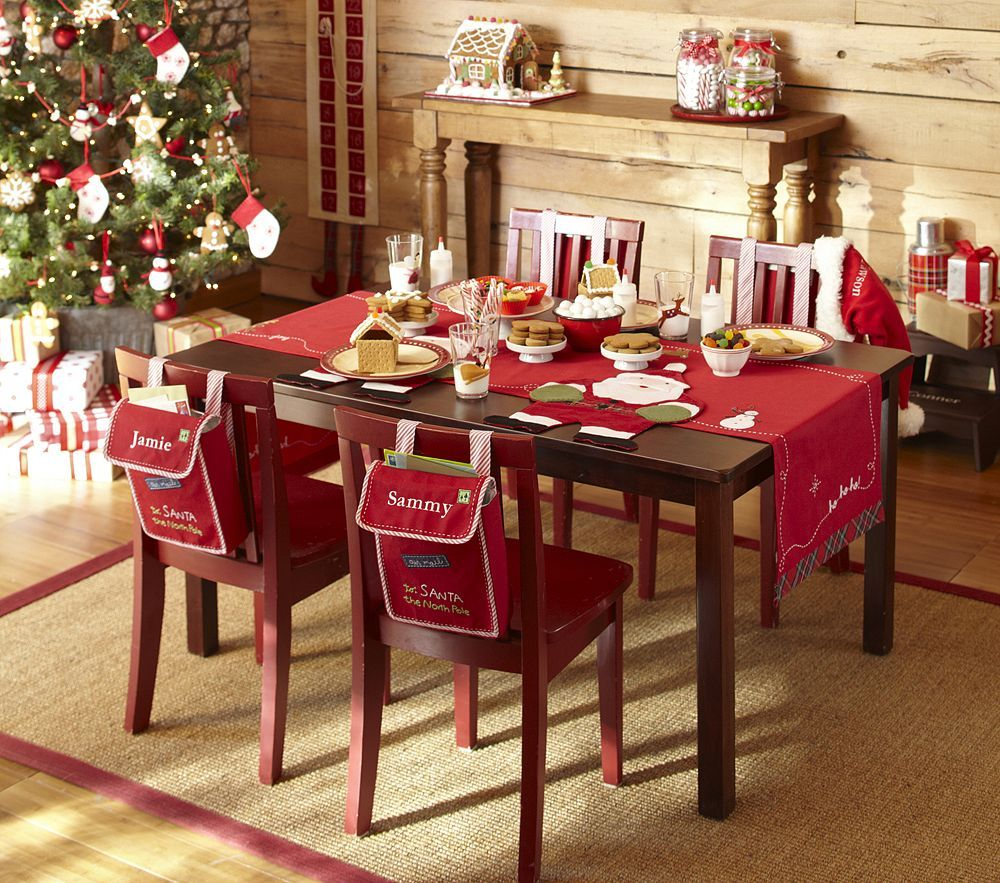 christmas decor - Easy Christmas Table Decorations Ideas